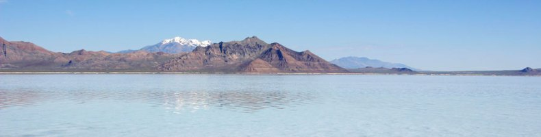 Большое Соленое озеро считается самым большим озером в США