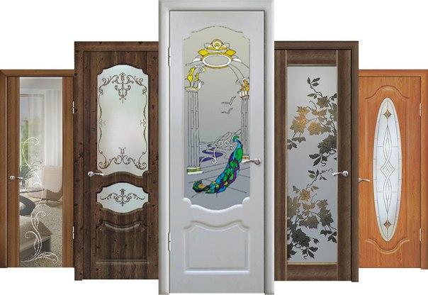 Внешний вид дверей Геона