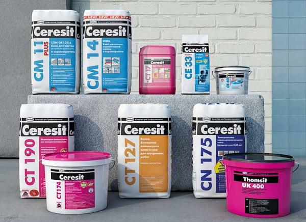 Фасадные штукатурки Церезит представлены широким ассортиментом и отличаются высоким качеством
