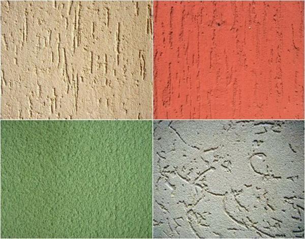 Варианты рисунков на поверхности