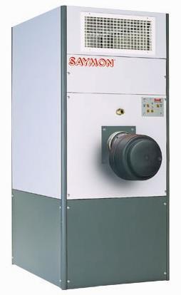 Фото: Многотопливная тепловая пушка-генератор Saymon