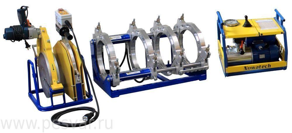 Сварачная машина ZHCB-315 для стыковой сварки труб из полиэтилена