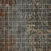 Cast Iron Black Natural Mosaico 2,5x2,5 30x30