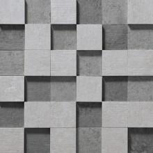Apavisa Nanoevolution grey striato mosaico 5x5