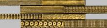 Apavisa Nanoevolution gold mosaico sin fin 10x30