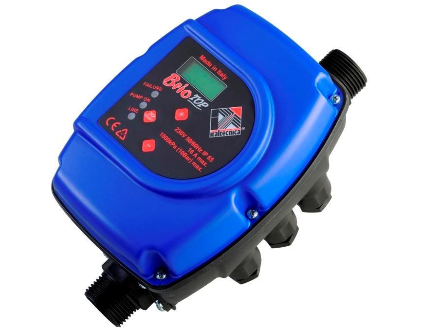 фото электронное реле давления воды Brio Top