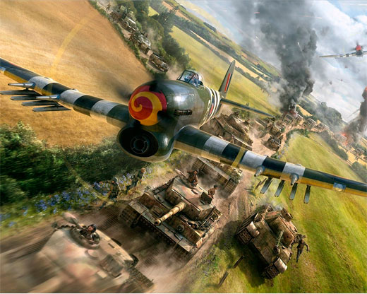 бесплатная онлайн игра War Thunder
