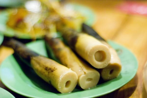Запеченные побеги бамбука