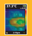 Visual IR Thermometer technology comparison