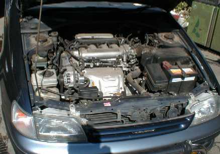 Замена ремня ГРМ на двигателе Toyota 3S-GE
