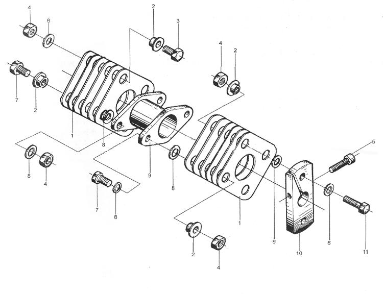 Топливопровод WD615 EURO II