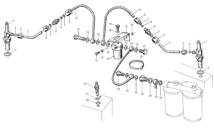 Система воспламенения топлива WD615 EURO II