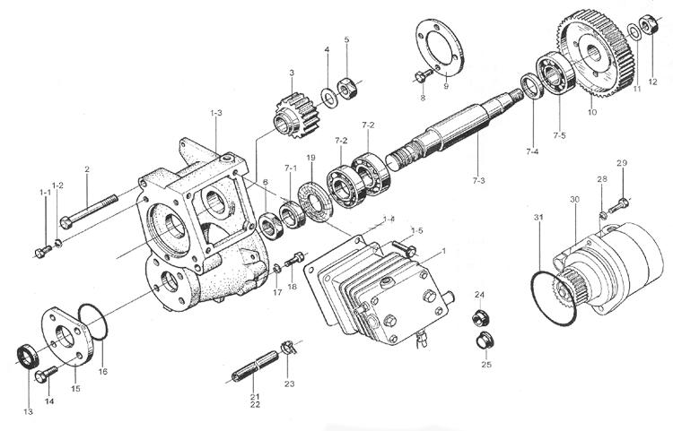 Воздушный компрессор WD615 EURO II