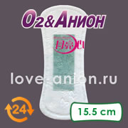 Внешний вид ежедневной салфетки «О2&Анион»