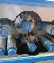 Двухвальный многопильный станок WD-170, WD-220, двухвальная система