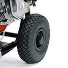 Большие надувные колеса с протектором