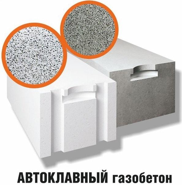 Автоклавный и неавтоклавный газобетон