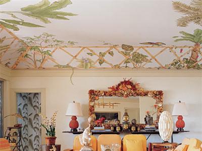 потолочные фрески