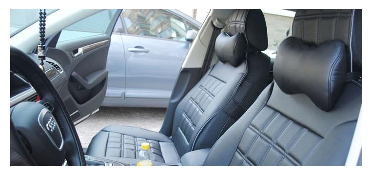 подушки на подголовники - помощь для вашей шеи в машине