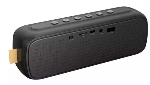 Компактная Стерео-колонка портативная Pill, с автономным питанием и съёмным аккумулятором. Удобна для подключения планшета, ноутбука, мобильного телефона, MP4-плеера и пр.