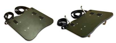 складная полка для ноутбука оператора георадара VIY3-125