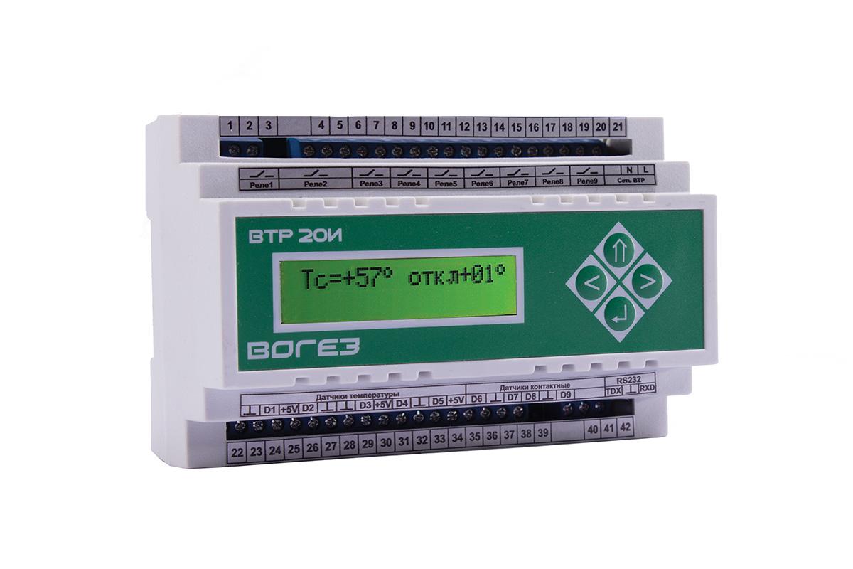 Картинки по запросу Микропроцессорный терморегулятор ВТР-210И