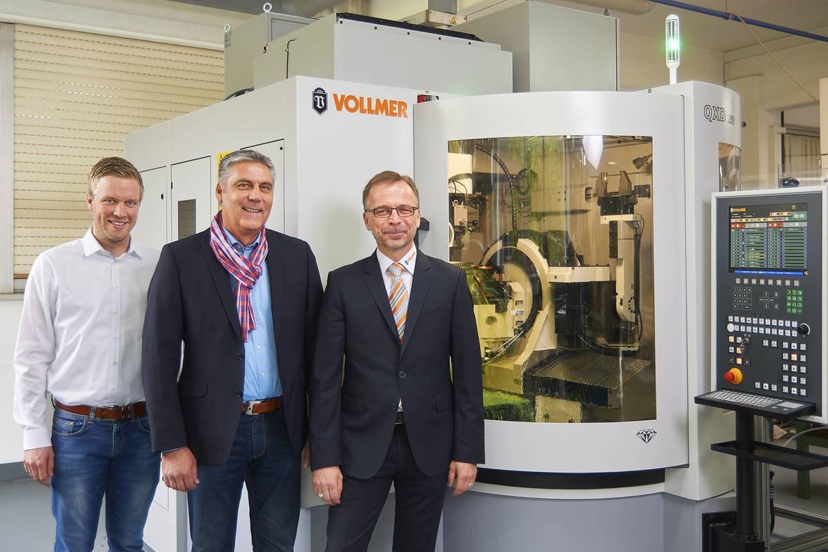 Сотрудничество PREWI и VOLLMER в области создания высокопрочного инструмента