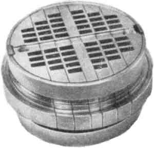 Клапан ПІК (вид з боку входу газу)