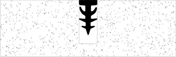 Монтажная схема профильного уплотнения Елочка