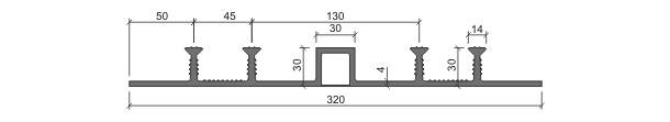 Гидрошпонка ДОМ-320/30-4/30