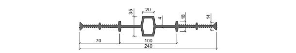 Гидрошпонка ДВ-240/20