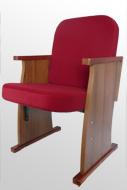 Кресло для дома культуры откидное