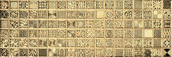 Aparici Enigma +13407 Декор керамич. ENIGMA GOLD, 20x59,2
