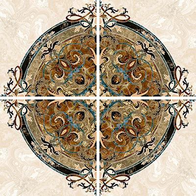 Aparici Agate +15257 Декор керамич. AGATE ROSSO CENTRO PUL., 44,63x44,63