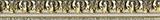 Aparici Elegy +15268 Бордюр керамич. CHISEL GOLD MOLDURA, 4x31,6