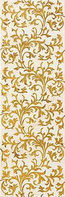Aparici LINEAGE +16737 Декор керамич. LINEAGE IVORY-GOLD DECOR, 20X59,2