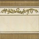 Aparici LINEAGE +16741 Бордюр керамич. MAJESTIC GOLD ZOCALO, 20X20