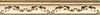 Aparici Pashmina +17861 Бордюр керамич. CACHEMIR GOLD MOLD, 3X20