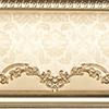 Aparici Pashmina +17863 Бордюр керамич. CACHEMIR GOLD ZOC, 20X20