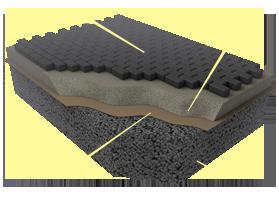 Применение материалов «Brane GEO» при мощении тротуарной плиткой (брусчаткой, камнем)
