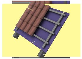 Применение материала «Brane D» в конструкции неутепленной кровли