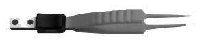 Биполярный пинцет короткий с игольчатыми кончиками (RS600519)