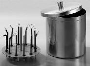 Емкость для хранения и дезинфекции электродов (ELST0001)