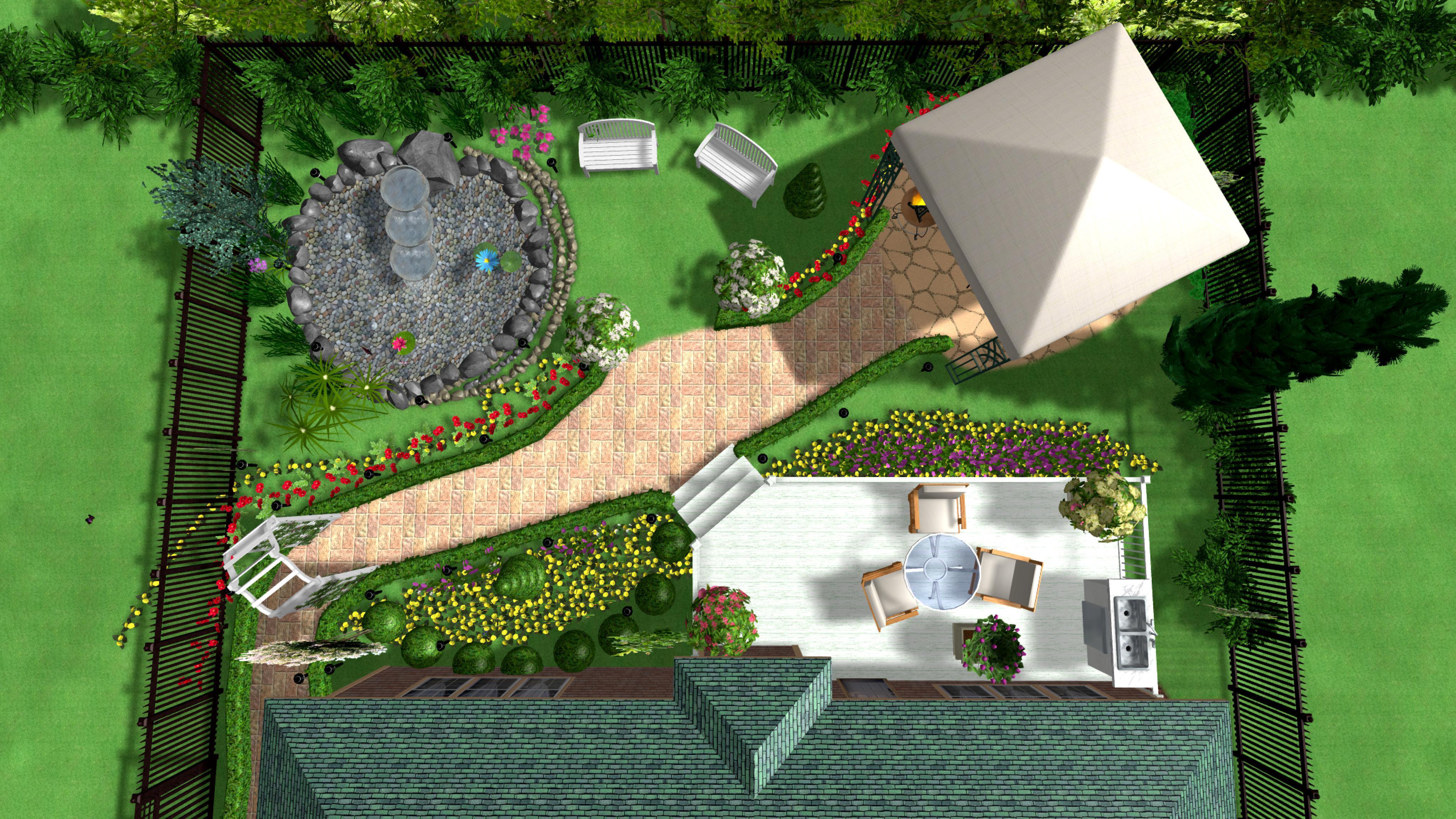 Садовые дорожки