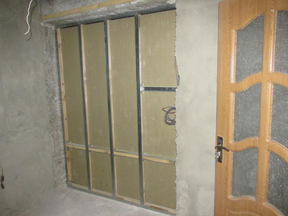 Стена из гипсокартона