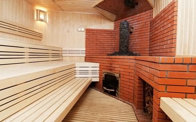 Кирпичная баня