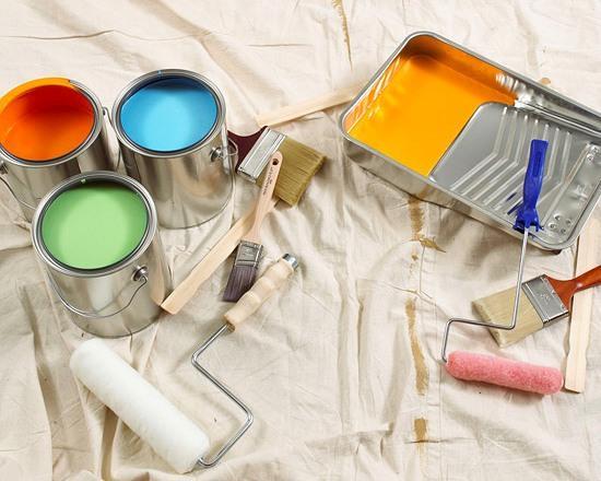 Покупка краски