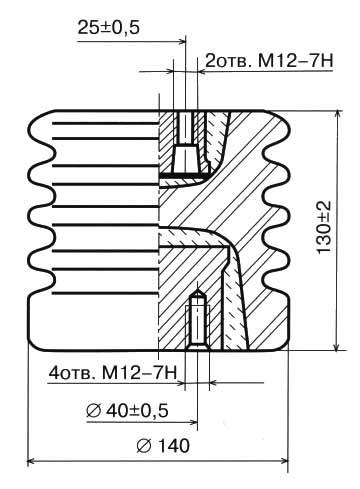 Ізолятор І16-80 I УХЛ2
