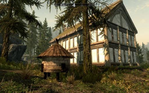 Elder Scrolls V: Skyrim, The - Hearthfire: Як побудувати будинок в Скайриме (гайд)