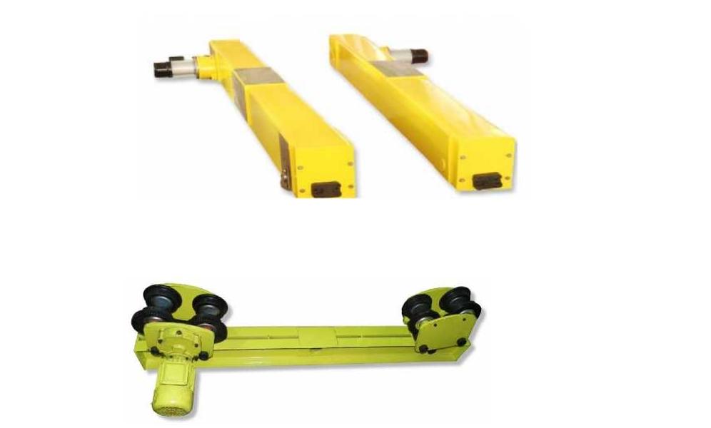 Концевые балки для кранов мостовых Концевые балки для краноы мостовых. Подвесные и опорные.